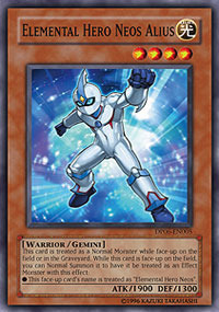 Elemental Hero Neos Alius - DP06-EN005 - Common - Unlimited Edition
