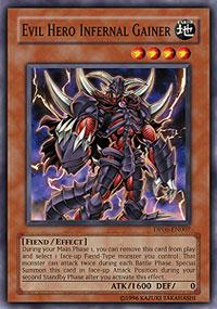 Evil Hero Infernal Gainer - DP06-EN007 - Common - Unlimited Edition