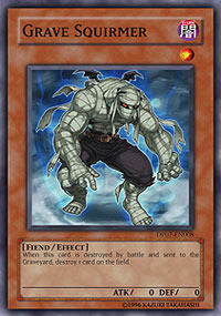 Grave Squirmer - DP07-EN008 - Super Rare - Unlimited Edition