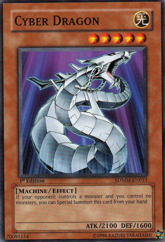 Cyber Dragon -  SDMM-EN013  - Common - Unlimited Edition