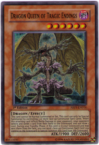 Dragon Queen of Tragic Endings - ABPF-EN014 - Super Rare - Unlimited Edition