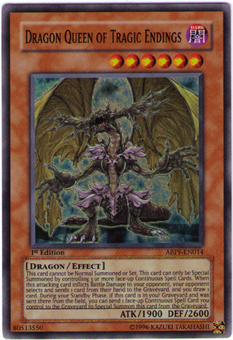 Dragon Queen of Tragic Endings - ABPF-EN014 - Super Rare - Unlimited Edition
