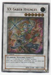 XX-Saber Hyunlei - ABPF-EN044 - Ultimate Rare - Unlimited Edition