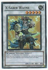 X-Saber Wayne - 5DS3-EN042 - Super Rare - Unlimited Edition on Channel Fireball