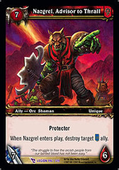 Nazgrel, Advisor to Thrall