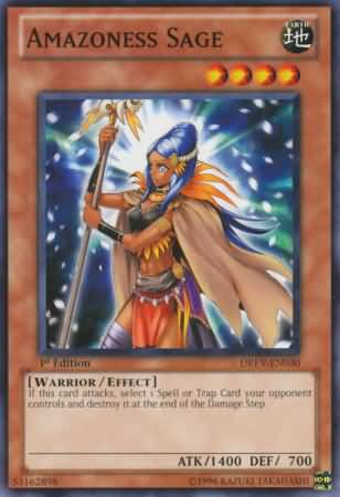 Amazoness Sage - DREV-EN030 - Common - Unlimited Edition
