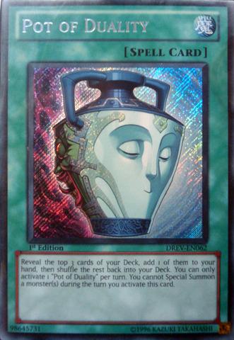 Pot of Duality - DREV-EN062 - Secret Rare - Unlimited Edition