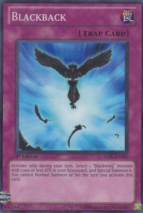 Blackback - STBL-EN065 - Super Rare - Unlimited Edition