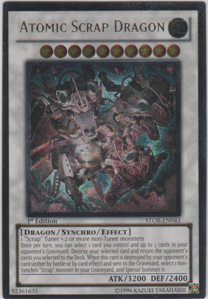 Atomic Scrap Dragon - STOR-EN043 - Ultimate Rare - Unlimited Edition