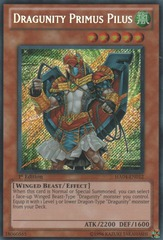 Dragunity Primus Pilus - HA04-EN012 - Secret Rare - Unlimited Edition