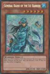 General Raiho of the Ice Barrier - HA04-EN025 - Secret Rare - Unlimited Edition
