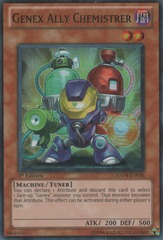 Genex Ally Chemistrer - HA04-EN036 - Super Rare - Unlimited Edition on Channel Fireball