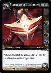 Platinum Shield of the Valorous