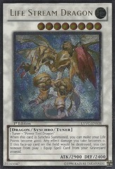 Life Stream Dragon - EXVC-EN038 - Ultimate Rare - Unlimited Edition