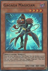 Gagaga Magician - GENF-EN001 - Super Rare - Unlimited Edition on Channel Fireball