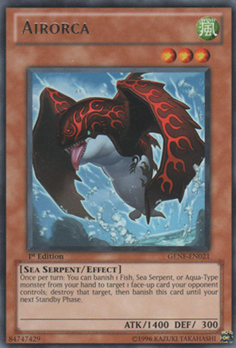 Airorca - GENF-EN021 - Rare - Unlimited Edition