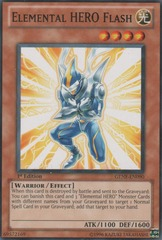 Elemental HERO Flash - GENF-EN090 - Common - Unlimited Edition