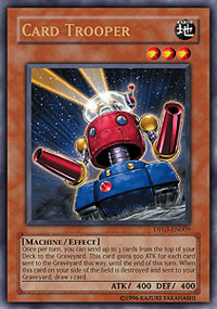 Card Trooper - DP03-EN009 - Ultra Rare - Unlimited Edition