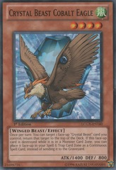 Crystal Beast Cobalt Eagle - LCGX-EN160 - Common - 1st Edition
