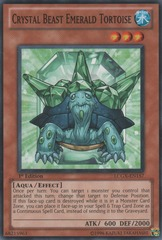 Crystal Beast Emerald Tortoise - LCGX-EN157 - Common - 1st Edition