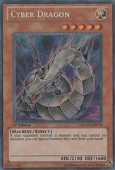 Cyber Dragon - LCGX-EN176 - Secret Rare - 1st Edition on Channel Fireball