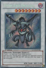 Dark End Dragon - LCGX-EN188 - Secret Rare - 1st Edition