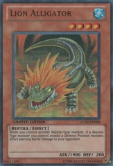 Lion Alligator - LC02-EN008 - Ultra Rare - Limited Edition