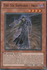 The Six Samurai - Irou - LCGX-EN232 - Common - 1st Edition