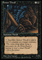 Armor Thrull (Pete Venters) on Channel Fireball