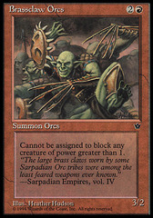 Brassclaw Orcs (Claws) on Channel Fireball