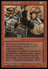 Dwarven Soldier (Shuler) on Channel Fireball