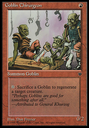 Goblin Chirurgeon (Frazier)