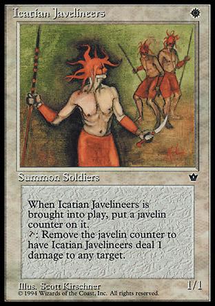 Icatian Javelineers (Scott Kirschner)