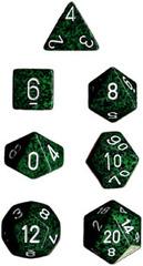 7-die Polyhedral Set - Speckled Recon - CHX25325