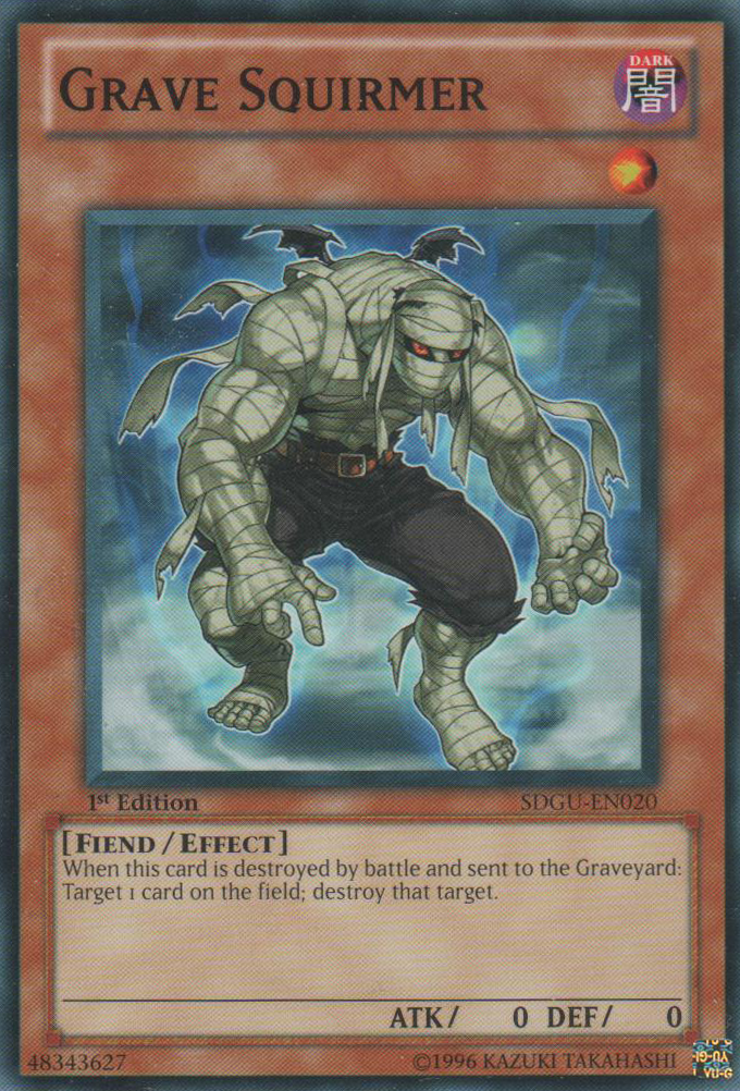 Grave Squirmer - SDGU-EN020 - Common - 1st Edition
