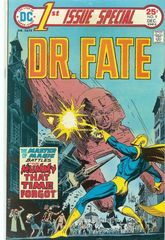 1st Issue Special 9 Dr. Fate