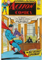 Action Comics 390 The Self Destruct Superman