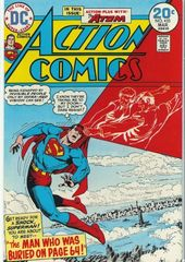 Action Comics 433 The Man Who Was Buried On Page 64!