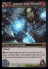 Conqueror Kagon Blackskull