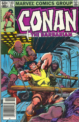 Conan The Barbarian Vol. 1 140 Spider Isle