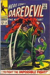 Daredevil Vol. 1 32 ... To Fight The Impossible Fight!