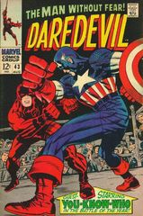 Daredevil Vol. 1 43 In Combat With Captain America!