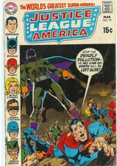Justice League Of America Vol. 1 79 Come Slowly Death Come Slyly