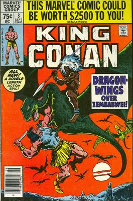 King Conan / Conan The King 3 Red Moon Of Zembabwei