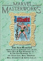 Marvel Masterworks: #79 The Sub Mariner 2 Tales To Astonish #88 101 Iron Man & Sub Mariner #1 And Sub Mariner #1