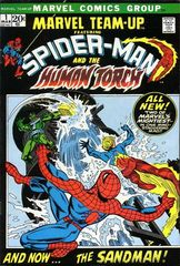 Marvel Team Up Vol. 1 1 Spider Man And The Human Torch: Have Yourself A Sandman Little Christmas!