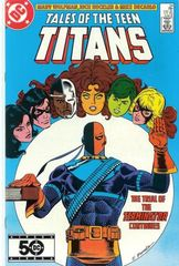 Tales Of The Teen Titans 54 Blind Justice
