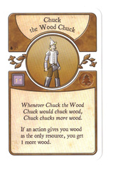Agricola The Legen*dairy Forest Deck: Chuck the Wood Chuck