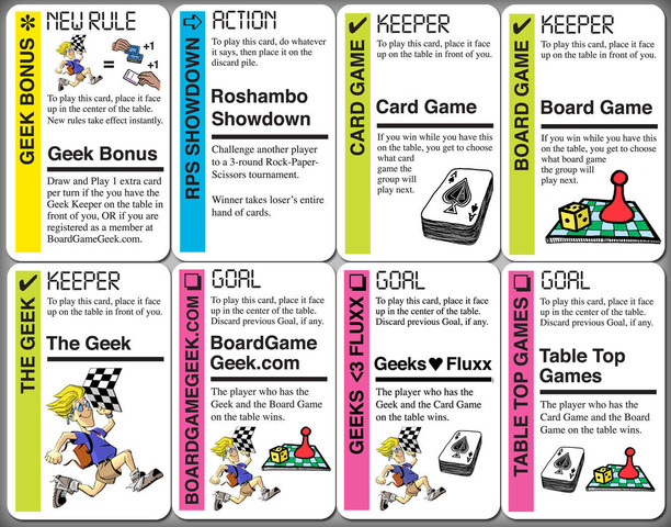Fluxx: BoardGameGeek Expansion
