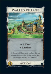 Dominion: Walled Village Promo Card